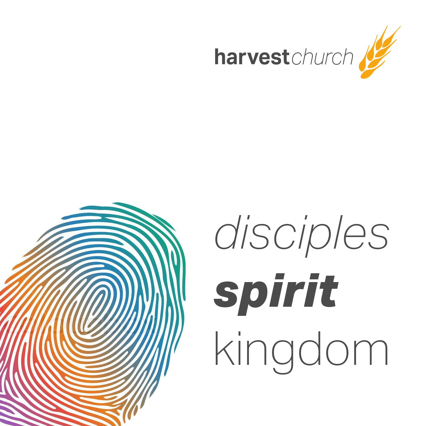 Disciples, Spirit, Kingdom